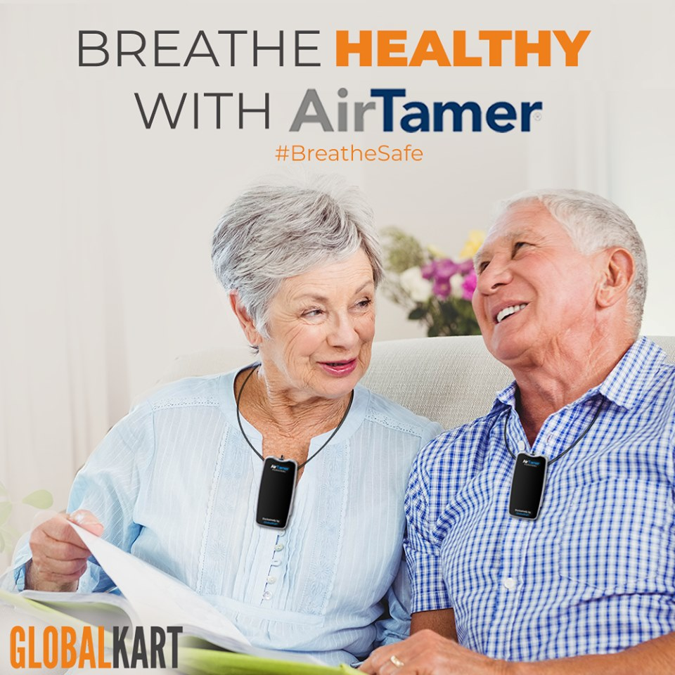 Wear personal air purifiers