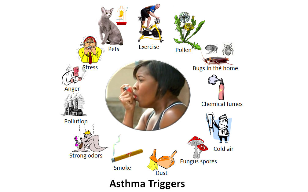 cause your asthma attacks